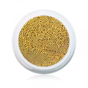 Gold | NailArt Mikroperlen | klein |Perlen