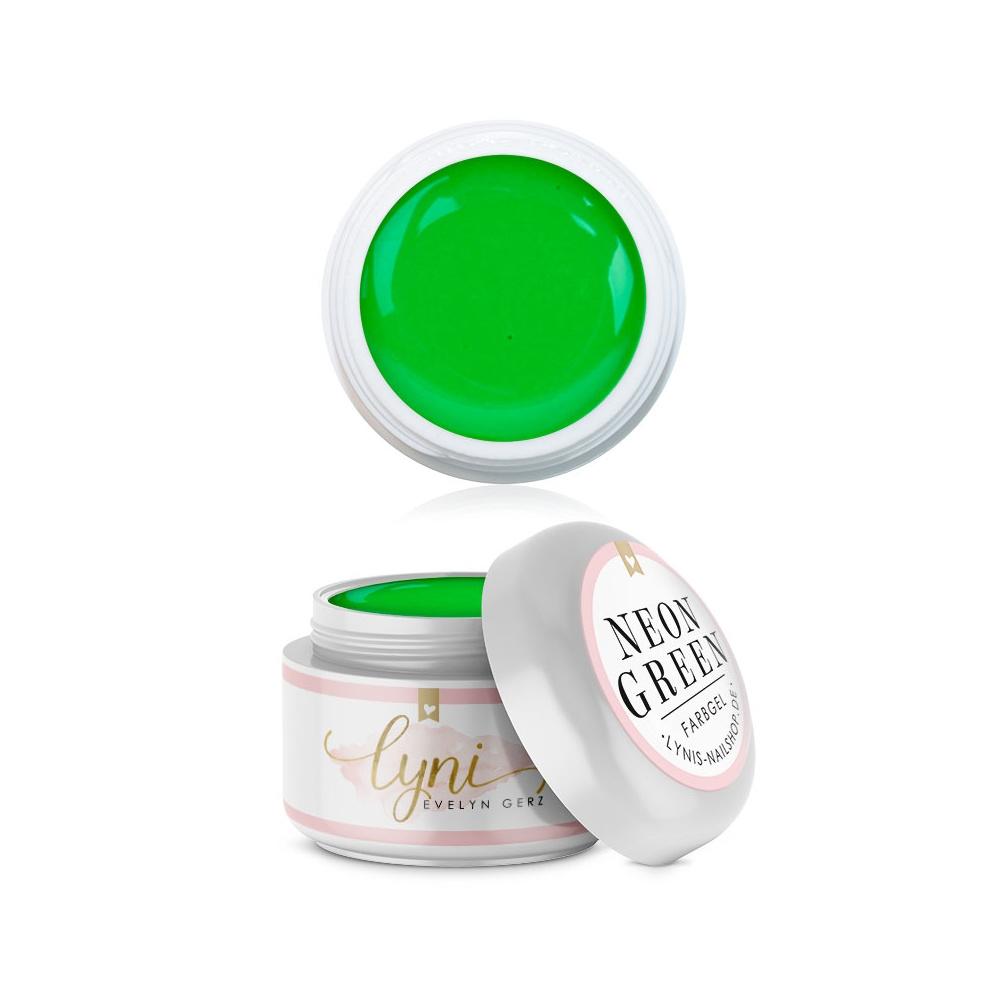 Neon Green | Farbgel 5ml |Farbgel