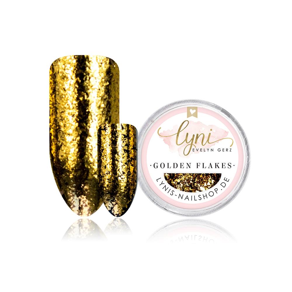 Golden Flakes |Pigmente/Flakes