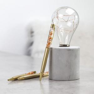 Kugelschreiber in edlem Gold |lovemynails