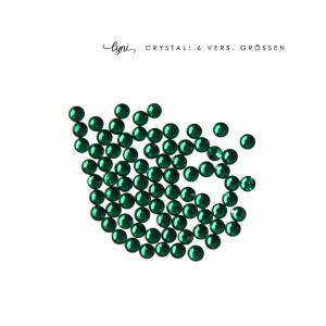 Kristall Tüte | Grün als Steinchen für Nageldesigner & Nagelstudios