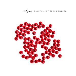 Kristall Tüte | Rot als Steinchen für Nageldesigner & Nagelstudios