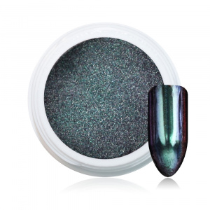 Holographic Chrome Pigment | Green | Pigmente/Flakes