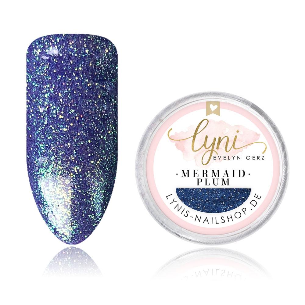 Mermaid Pigment - Plum |Pigmente/Flakes