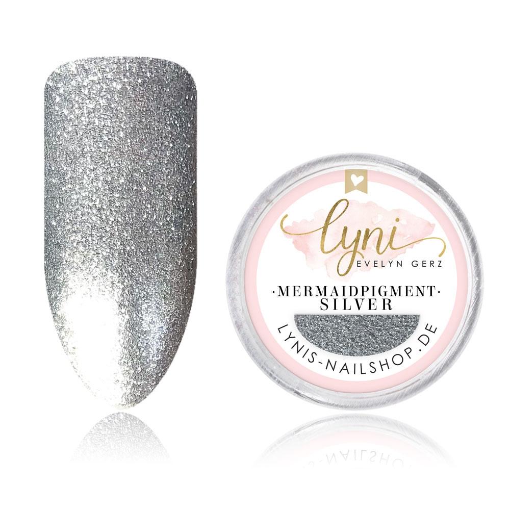 Mermaid Pigment - Silver |Pigmente/Flakes