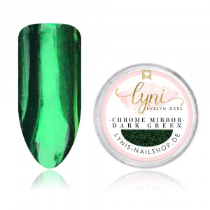 Chrome Mirror | Dark Green |Pigmente/Flakes