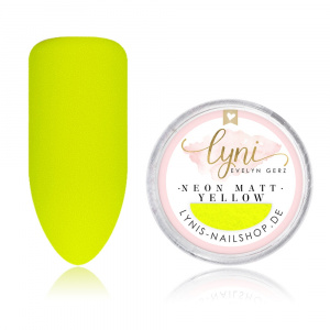 Neon Matt Pigment | Yellow |Pigmente/Flakes