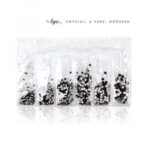 Kristall Tüte | Schwarz |Steinchen