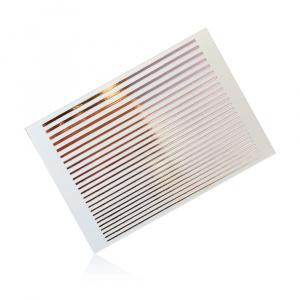 Stripes | Rose Gold |Sticker/Slider