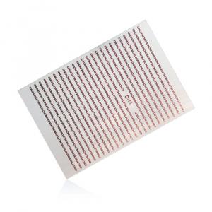 Stripes Chain D-11 | Rose Gold |Sticker/Slider