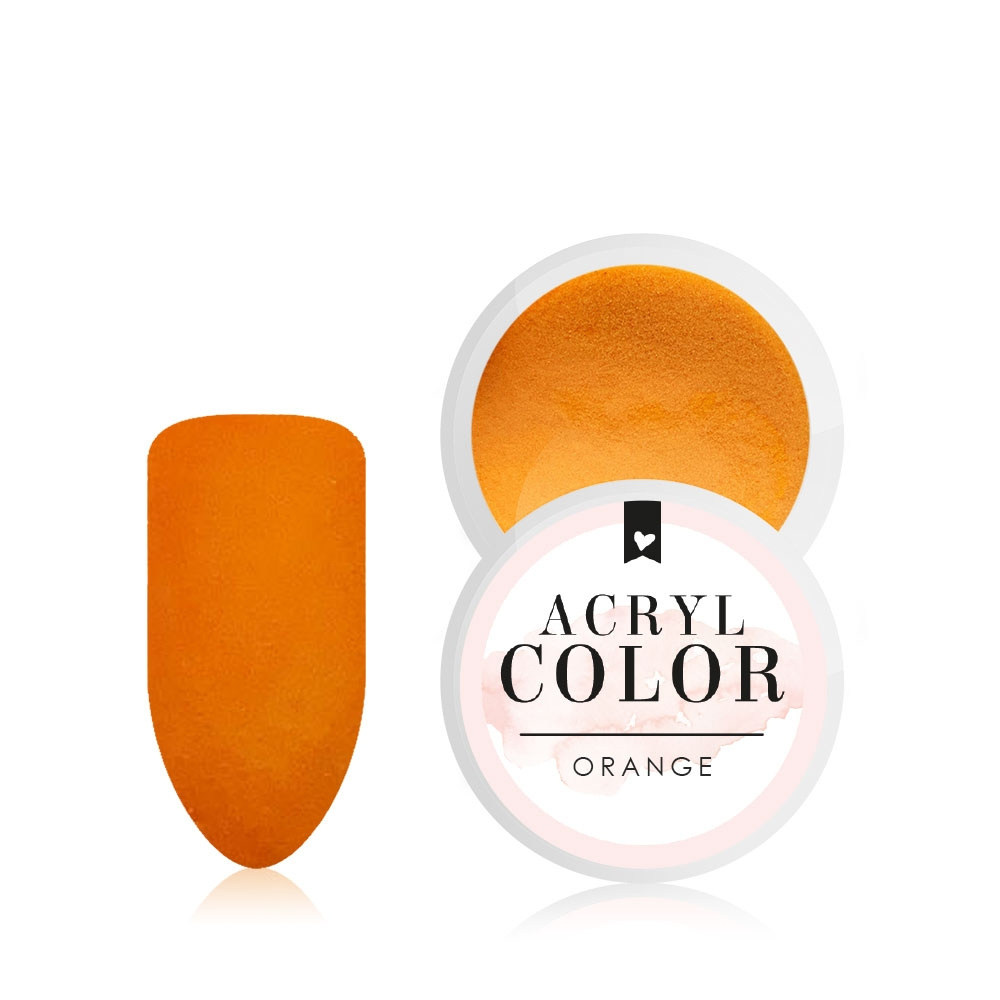 Acryl Color | Orange |Acryl Farbpowder