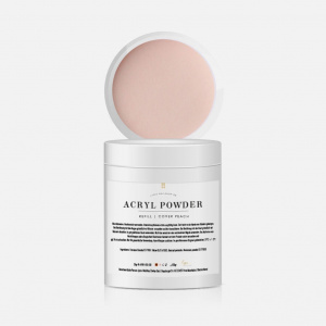 Acrylpowder   Cover Peach Refill 150g als Acryl Powder für Nageldesigner & Nagelstudios