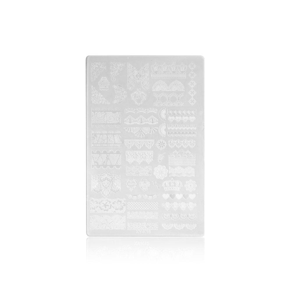 Stampingschablone Kunststoff XXL K15