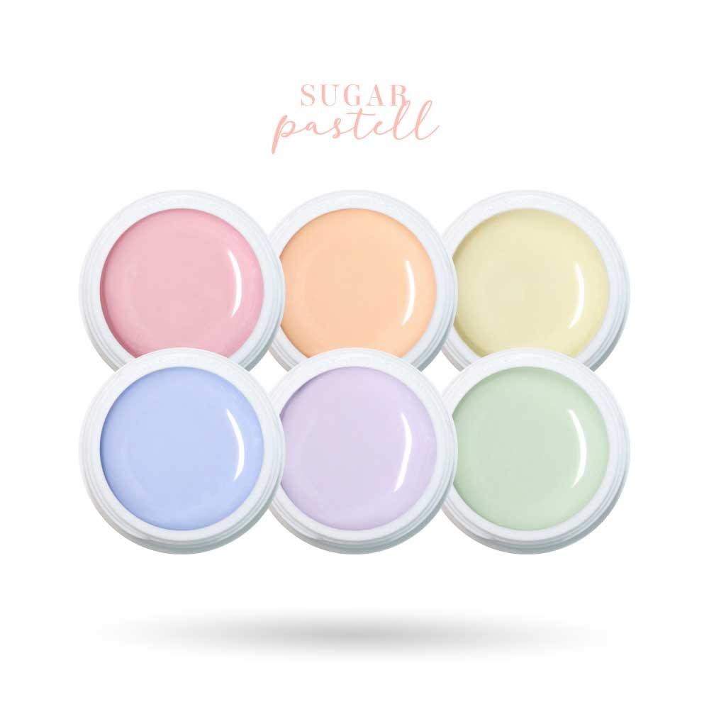 Sugar Pastell Farbgel Set als Sets für Nageldesigner & Nagelstudios