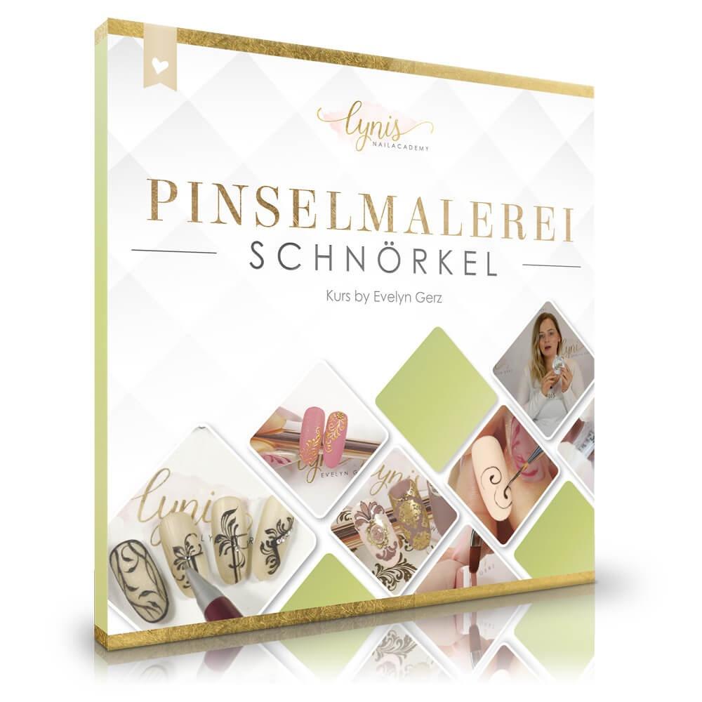 Schnörkelmalerei Kurs Material-Liste als Material-Listen für Schulungen für Nageldesigner & Nagelstudios