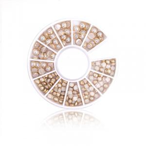 Nailart Rondell - Gold Vintage als Nailart Overlays für Nageldesigner & Nagelstudios