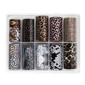 Animal | Nailartbox mit Folien als Nailart Folien für Nageldesigner & Nagelstudios