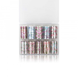 Vintage | Nailartbox mit Folien als Nailart Folien für Nageldesigner & Nagelstudios