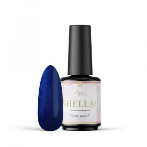 Shellac   Dark Night 7,3ml als Shellac / Gellack Farben für Nageldesigner & Nagelstudios