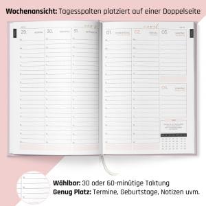 Terminplaner 2022 Nagelstudio Kalender als lovemynails für Nageldesigner & Nagelstudios