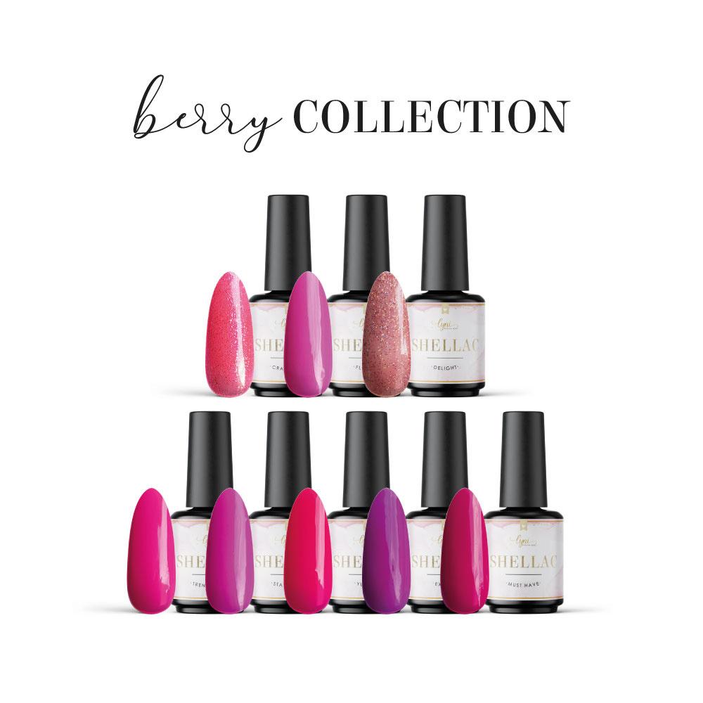 Berry Collection als Spar Sets im Nageldesign für Nageldesigner & Nagelstudios