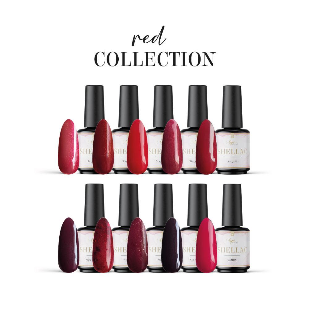 Red Collection als Spar Sets im Nageldesign für Nageldesigner & Nagelstudios