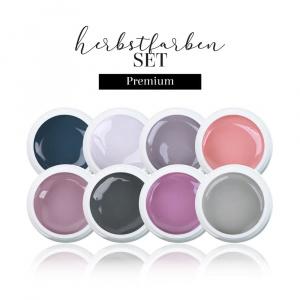 Farbgel Herbstfarben Set Premium als Farbgel Sets für Nageldesigner & Nagelstudios